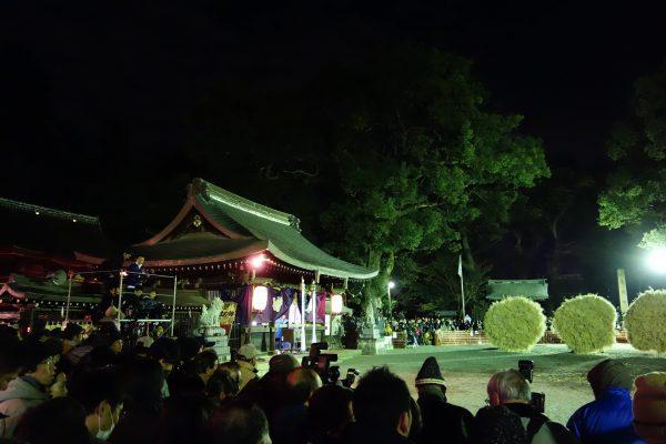 守山のイベント「勝部の火祭り」