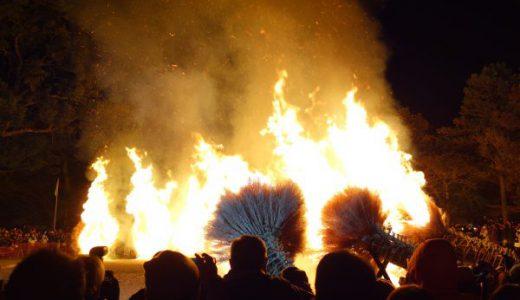 【滋賀観光】消防隊が来るほどの大火事祭り!!守山『勝部の火祭り』行ってきた