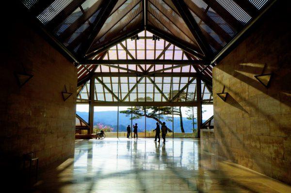 信楽の観光スポット「ミホミュージアム」