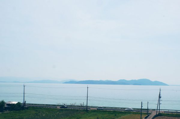 電車で琵琶湖一周