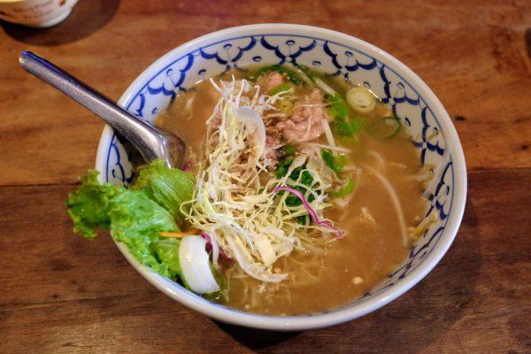 クィティァオ ナーム(タイの米麺) 800円