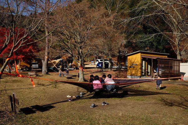 甲賀のキャンプ場「かもしかオートキャンプ場」