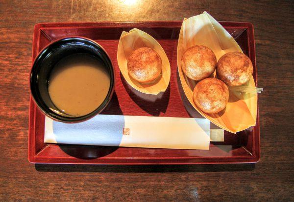 近江八幡のカフェ「たねや日牟禮乃舍」