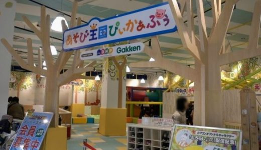 草津イオンの子供の遊び場「ぴぃかぁぶぅ」|割引情報と魅力をまとめる