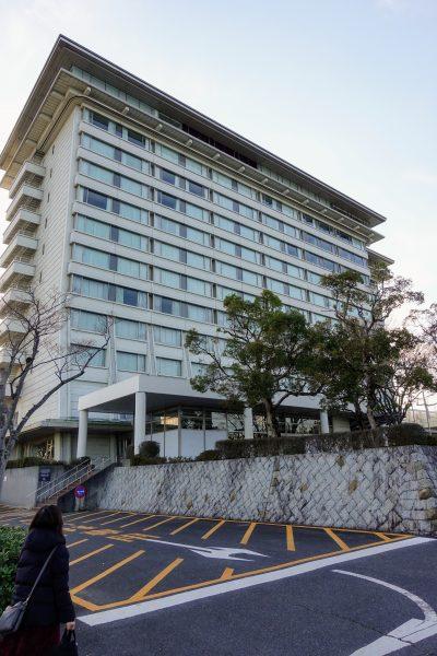 プラネタリウムがある琵琶湖マリオットホテル。結婚式や宴会もできる大きなホテルです。