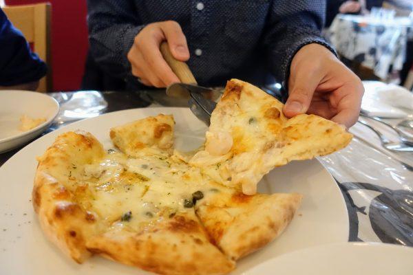 チーズがとろける!