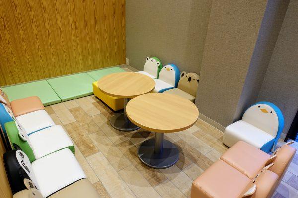 1,000円以上のカフェ利用で1時間使える個室。長浜ってもしかして子育てしやすいのでしょうか。