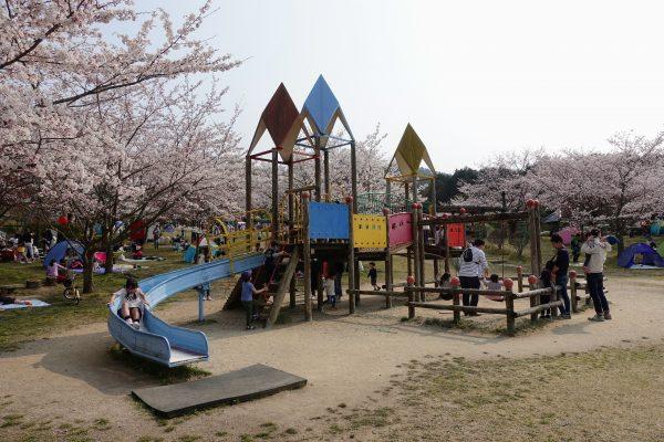 湖南市にある大型公園じゅらくの里へ行ってきました!